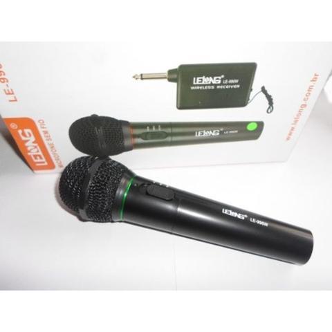 Imagem de Microfone Sem Fio Le-996w Lelong Profissional