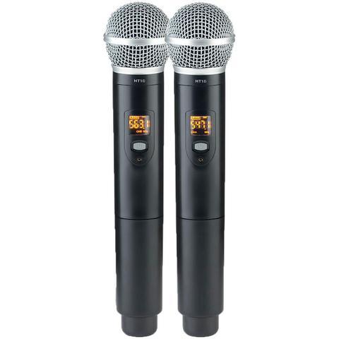 Imagem de Microfone Sem Fio Vokal DVS100 DM Duplo Mão