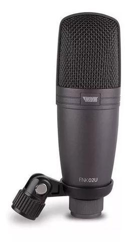 Imagem de Microfone Usb Condensador Profissional Studio Novik Fnk-02u
