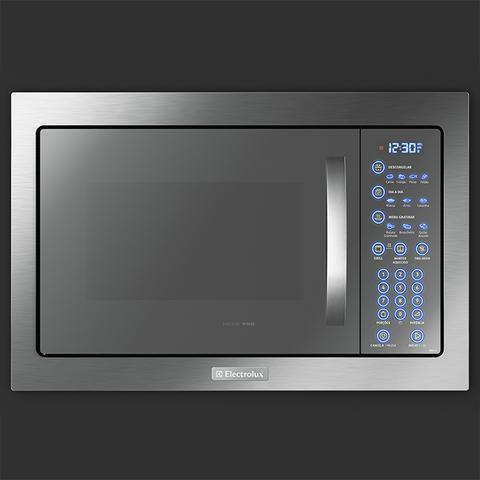 Imagem de Microondas de Embutir com Painel Blue Touch e Função Tira-odor com Acessórios Crispy e Rack Grill (MB43T)