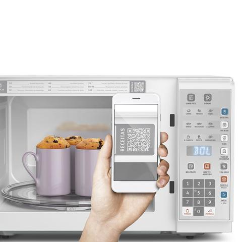 Imagem de Microondas Electrolux Painel Integrado MI41T Branco 31 Litros