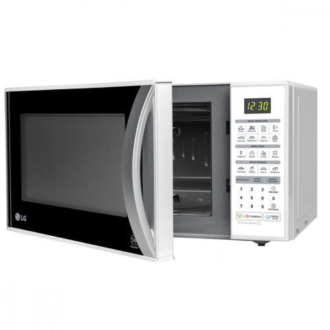 Imagem de Microondas LG Easy Clean 30 L Branco 220V  MS3052RA
