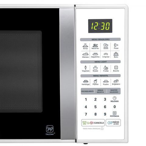 Imagem de Microondas LG Easy Clean 30 Litros Branco MS3052R  110V