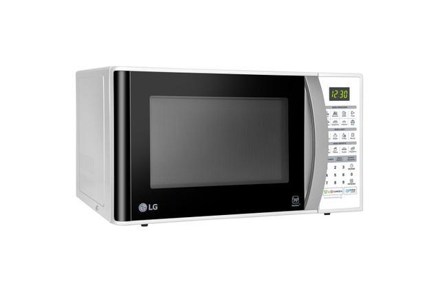 Imagem de Microondas LG MS3052RA Easy Clean Branco 30L 220v