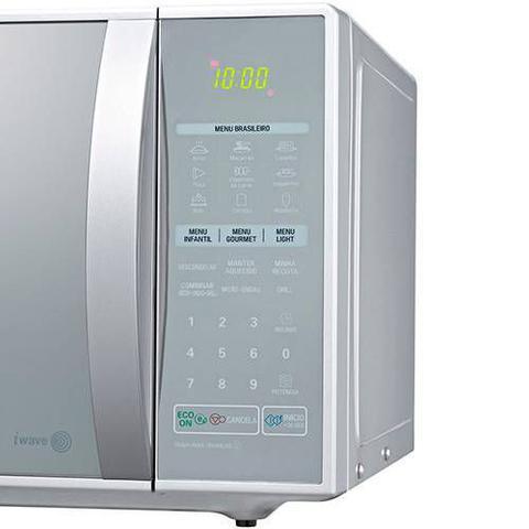Imagem de Microondas Lg Ms3059L - Prata Com Frente Espelhada - 30 Litros - 127V