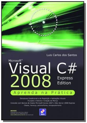 Imagem de Microsoft visual c 2008: aprenda na pratica - exp