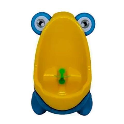 Imagem de Mictorio Infantil Sapinho Azul Pinico Para Crianças