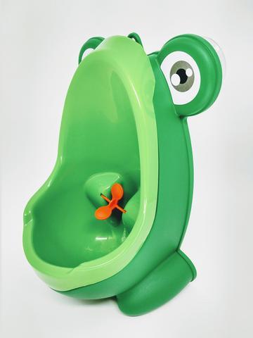 Imagem de Mictório Infantil Sapinho Troninho Penico verde