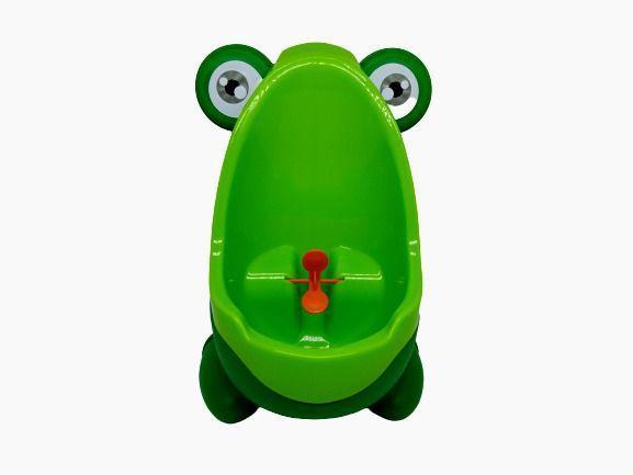 Imagem de Mictorio Infantil Sapinho Verde Pinico Para Crianças