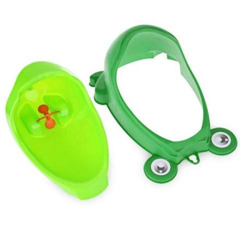 Imagem de Mictório Pinico Portátil Infantil Sapinho Bebê Verde - Turma - Turma guara