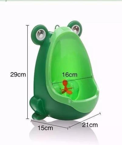 Imagem de Mictório Pinico Troninho Infantil Menino Bebe Sapinho Sapo Verde