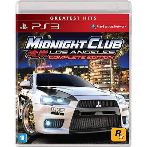 Jogo Midnight Club: Los Angeles - Complete Edition - Playstation 3 - Rockstar Games