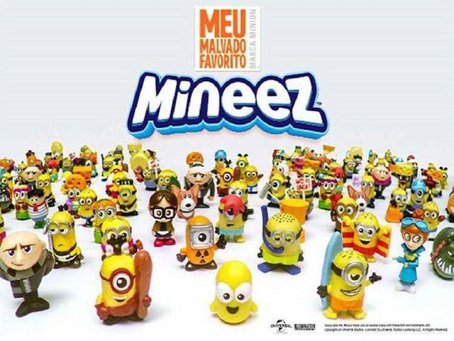 Imagem de Mineez 3 Miniaturas Sortidas Meu Malvado Favorito Dtc 4079