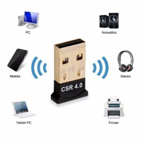 Imagem de Mini Adaptador USB Bluetooth 4.0 Dongle