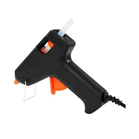 Imagem de Mini Aplicador Para Injetar Cola Quente 40W Acompanha 4 Refis Black Bull