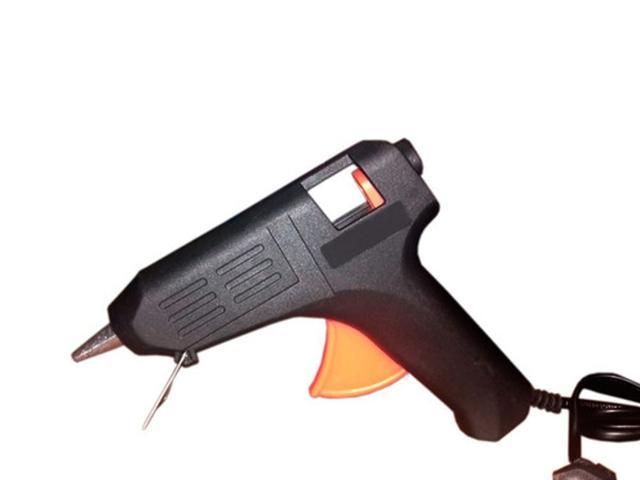 Imagem de Mini Aplicador Pistol.a Para Cola Quente 20w Média Bivolt 110v/220v Para Injetar Cola Quente