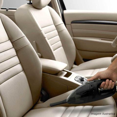 Imagem de Mini Aspirador De Pó Automotivo Portátil Luxcar 60w 12v Preto Com Bocal Para Frestas