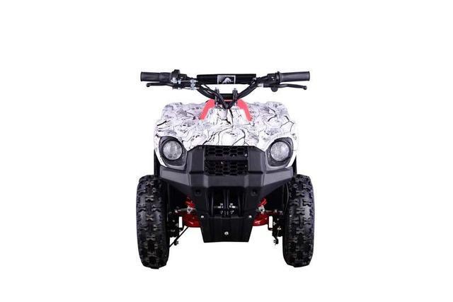 Imagem de Mini Atv Eletrico Bk-E800 Branco Camuflado
