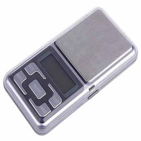 Imagem de Mini Balança Digital De Bolso Alta Precisão 0.1g Até 500g