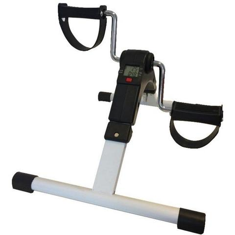 Imagem de Mini bicicleta dobrável com monitor preta 60820