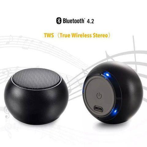 Imagem de Mini Bluetooth Caixinha De Som 3w Metal