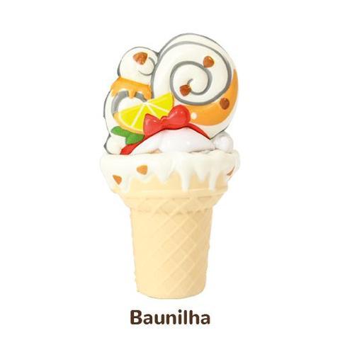 Imagem de Mini Boneca 13 Cm Gelateenz com Cheirinho Sorvete Torta de Baunilha 5106 - DTC