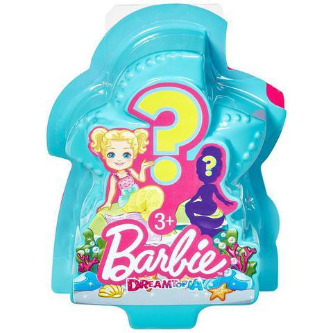 Imagem de Mini Boneca Barbie Sereia Dreamtopia Surpresa - Mattel