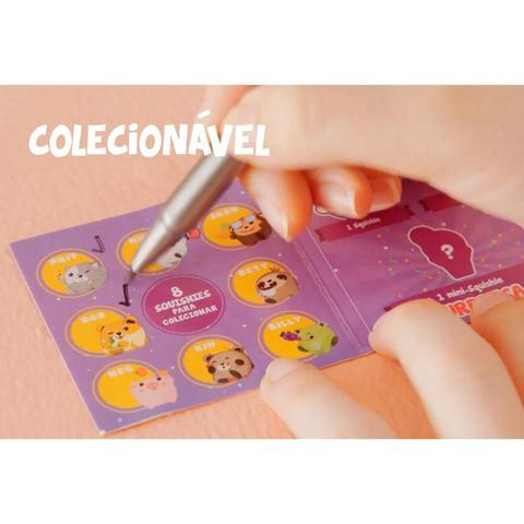 Imagem de Mini Boneca Bichinhos Squishies E Copo Surpresa Com Cheirinho Colecionáveis SQ231