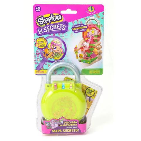 Imagem de Mini Boneca Surpresa Colecionável Shopkins Lil Secrets Quiosque de Frutas - DTC