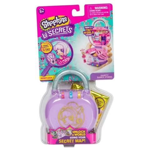 Imagem de Mini Boneca Surpresa Colecionável Shopkins Lil Secrets Show de Dança - DTC