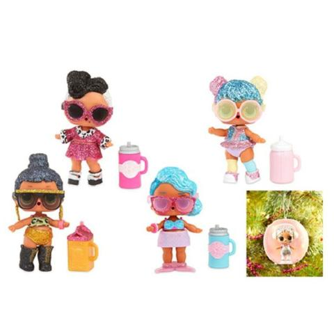 Imagem de Mini Boneca Surpresa - Lol - Lil Outrageous Littles - Bling Series - 7 Surpresas 8919 - Candide