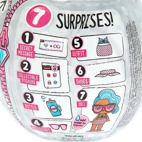 Imagem de Mini Boneca Surpresa - LOL - Lil Outrageous Littles - Bling Series - 7 Surpresas - Candide