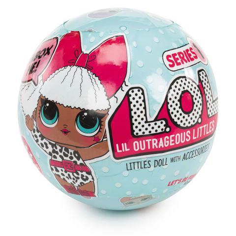 Imagem de Mini Boneca Surpresa LOL - Lil Outrageous Littles - Serie 1