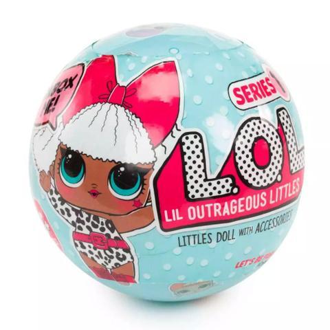 Imagem de Mini Boneca Surpresa - LOL Lil Outrageous- Serie 1- Candide