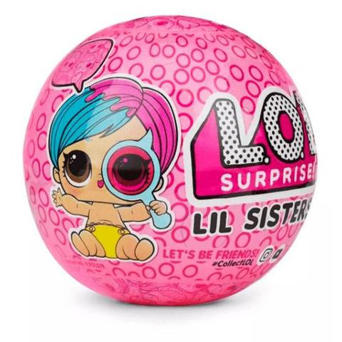 Imagem de Mini Boneca Surpresa - LOL - Lil Sisters Série 4 - Candide