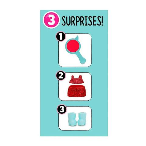 Imagem de Mini Boneca Surpresa - LOL Surprise - Fashion Crush - 3 Surpresas - Candide