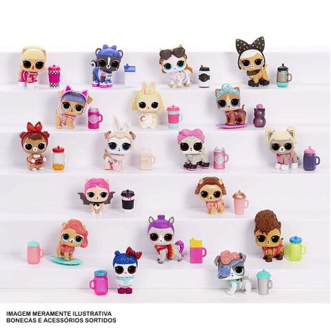 Imagem de Mini Boneca Surpresa - LOL Surprise! - Fluffy Pets - 9 Surpresas - Candide