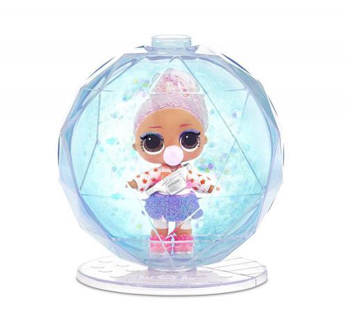 Imagem de Mini Boneca Surpresa LOL Surprise Glitter Globe Winter Disco 8 Surpresas - Candide