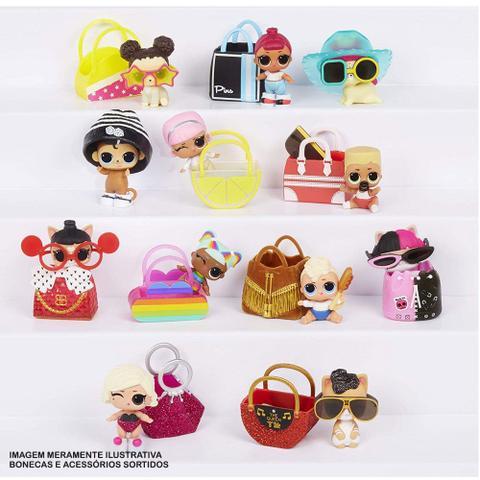 Imagem de Mini Boneca Surpresa - LOL Surprise! - Lils - Winter Disco - 5 Surpresas - Candide