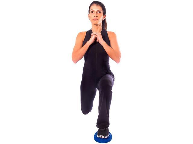 Imagem de Mini Bosu Meia Bola Cravos - Equilíbrio Ginástica Yoga Acte