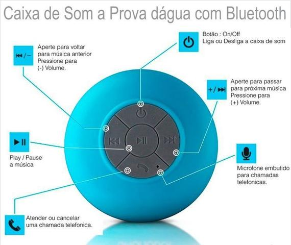 Imagem de Mini Caixa De Som Bluetooth A Prova DAgua