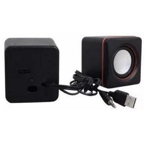 Imagem de Mini Caixa De Som Para Computador PC Notebook 3w Rms Cabo P2 USB
