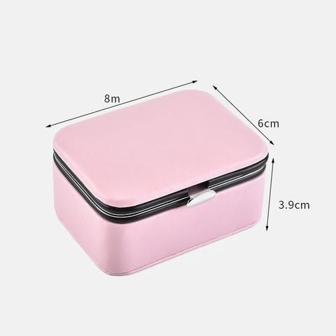 Imagem de Mini Caixa Porta Joias Viagem/Bolsa/Organizador/Colar/Brinco
