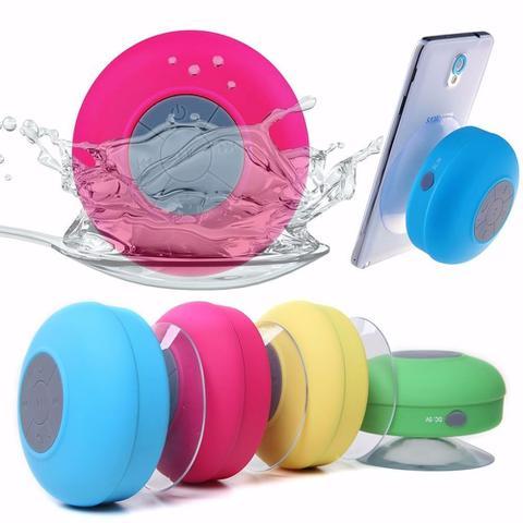 Imagem de Mini Caixinha Som Bluetooth Portátil Prova De Água Ventosa