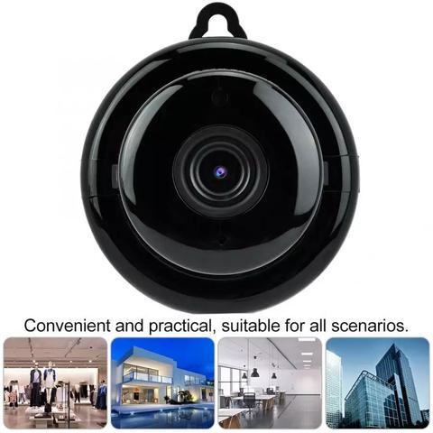 Imagem de Mini Câmera Espiã Visão Noturna Ip Wi-fi Hd 720p Bd-jk