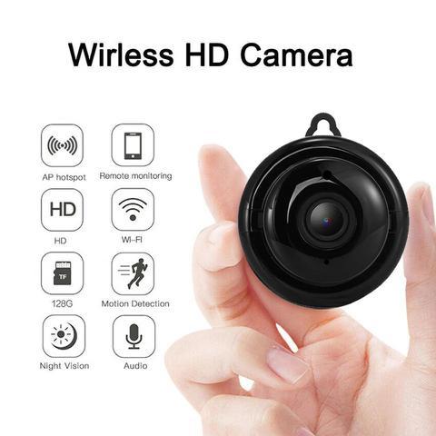 Imagem de Mini Câmera Wifi Hd Infravermelho Visao Noturna V380 720p