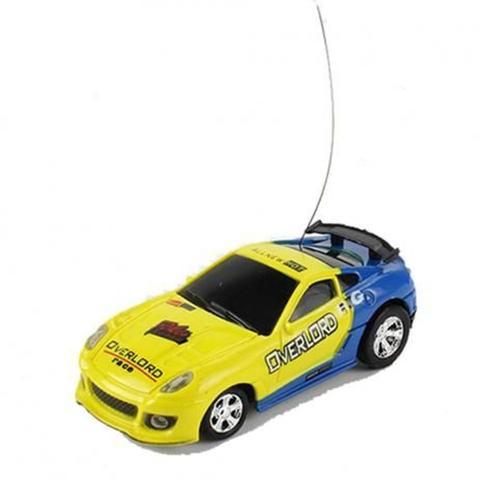 Imagem de Mini Carro De Controle Remoto Lata Racing Amarelo Dtc