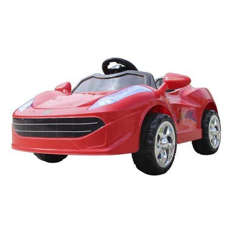Imagem de Mini Carro Elétrico BW005 - Vermelho (Modelo Ferrari)