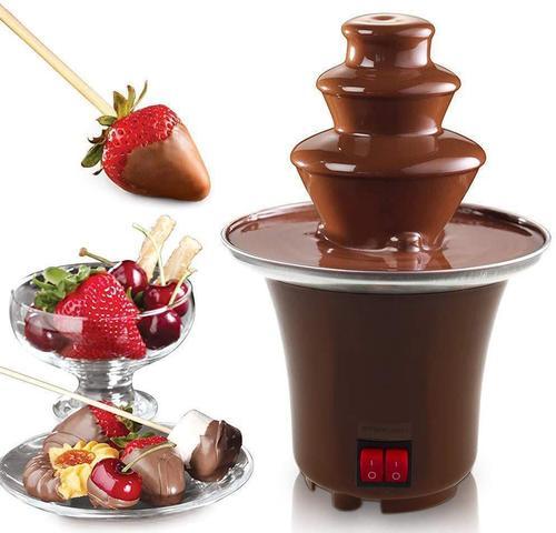 Imagem de Mini Cascata Fonte de Chocolate Fondue Eletrica 127V