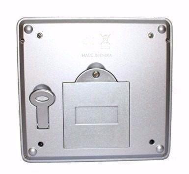 Imagem de Mini Cofre Digital Eletrônico Aço C/ Chave  Senha